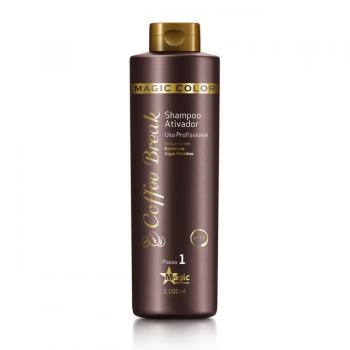 Shampoo Ativador Coffee Break - Uso Profissional - 1000 ml