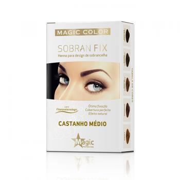 Henna - Castanho Médio - SOBRAN FIX