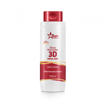 Gloss Matizador 3D Mega Red-500