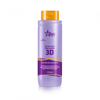 Shampoo Matizador 3D - 500ml