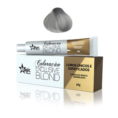 9.12 - Loiro Muito Claro Cinza Irisado Exclusive Blond 60g