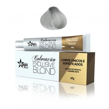 Coloração 12.11 - Loiro Extra Claro Cinza Intenso Platinado Exclusive Blond 60g