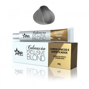 Coloração 12.111 - Loiro Platino Cinza Super Intenso (Triplo Cinza) Exclusive Blond 60g