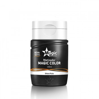 Mini Matizador Magic Color - Efeito Prata - 100ml