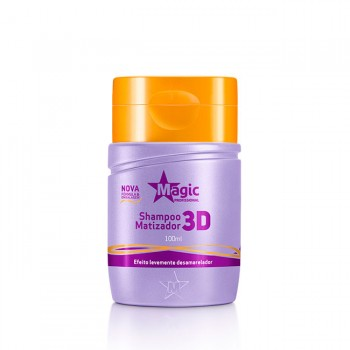 Mini Shampoo Matizador 3D - 100ml