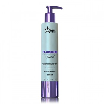 Platinagem Exclusive Blond Cristal - Efeito Platinado - 350 ml