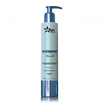 Platinagem Exclusive Blond Metalik - Efeito Prata - 350 ml