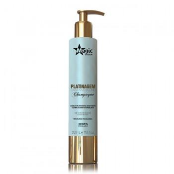 Platinagem Exclusive Blond Champagne - Efeito Perolado - 350 ml